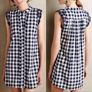 Dear Creatures Trinette Shirtdress Gingham Dress